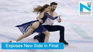 French Skater's 'SHOCKING' Wardrobe Malfunction In Winter Olympics 2018 | NYOOOZ TV