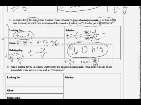 Worksheets 7th Grade Science Worksheet 7th grade science speed worksheet part 2 youtube