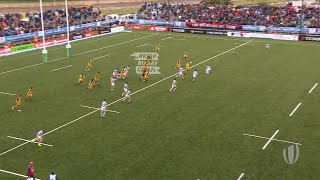 Top five tries from day four at the U20s Championship