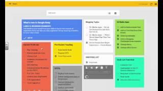 Quick Google Tip: Google Keep