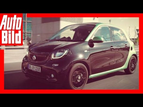 Smart Electric Drive - Neuer Smart mit E-Antrieb (2016)