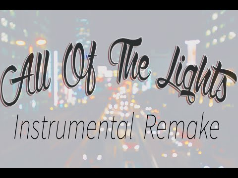 Kanye West - All Of The Lights (Instrumental Remake)