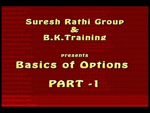 Basic of Options in Indian Stock Market | Suresh Rathi Group