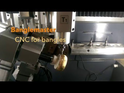 Banglemaster - CNC machine for bangles