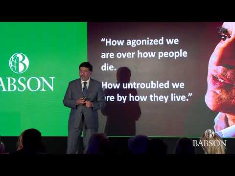 Babson Connect; Worldwide 2018 Keynote Raj Sisodia