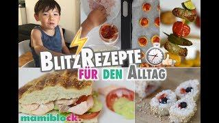 Gesundes Fast Food für Kinder 🍏😋| Schnelle Familien Rezepte ⏱⚡️| mamiblock