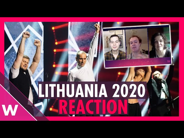 Lithuania Eurovision 2020 Reaction | The Roop