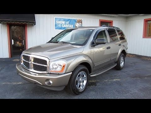 2005 dodge durango limited start up engine and in depth. Black Bedroom Furniture Sets. Home Design Ideas