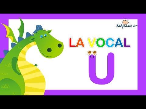 Aprende palabras que empiezan por la Vocal U con Mon el dragón