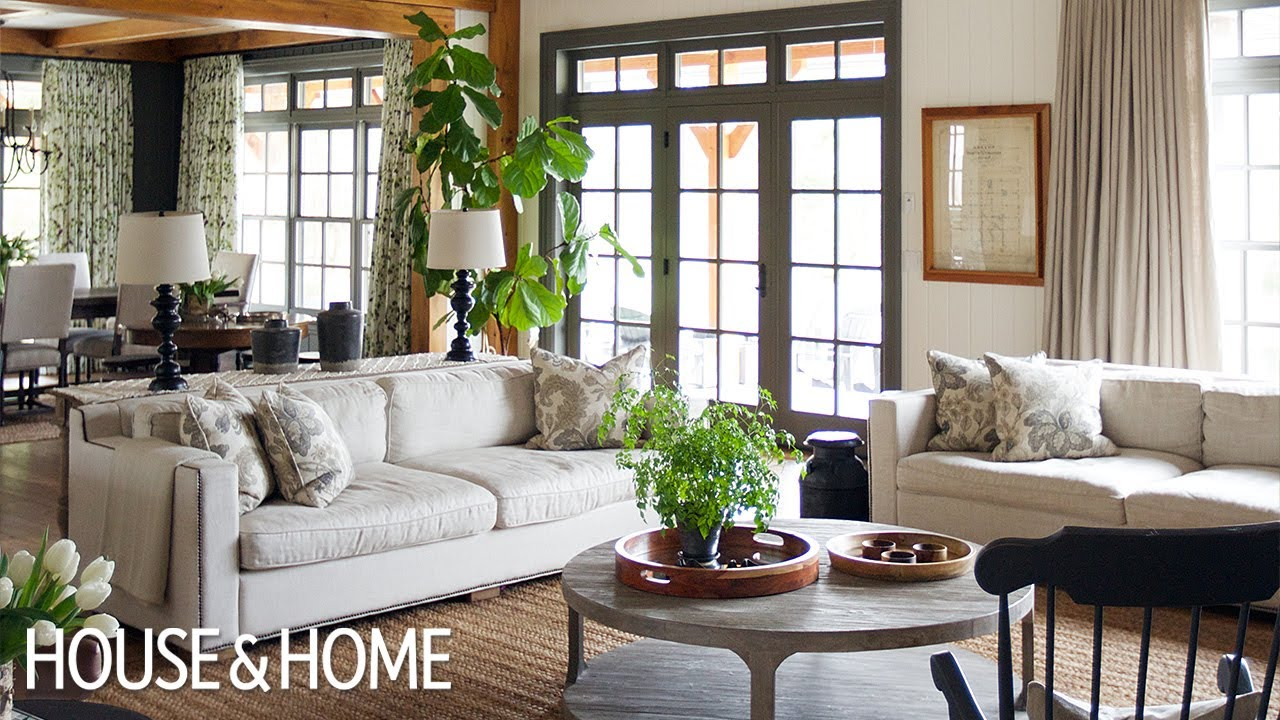 Interior Design A Sophisticated Country House With Traditional Decor Youtube