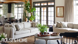 Interior Design – A Sophisticated Country House With Traditional Decor
