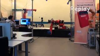 Robotic ball catching with an eye-in-hand single-camera system