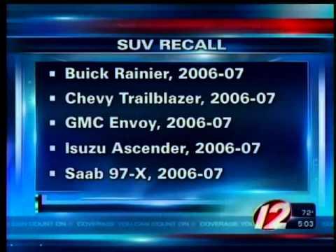 GM Recalls Thousands of SUVs Due to Fire Hazard