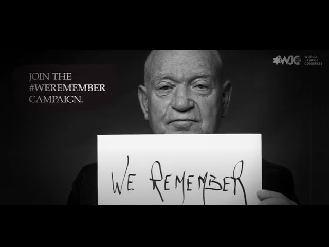 2021 #WeRemember Campaign with Sami Steigmann