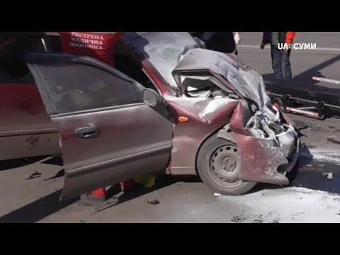 Суспільне Суми: Аварія з трьома травмованими сталась у Сумах