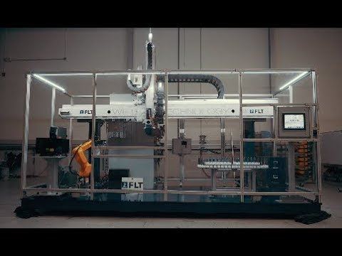Automated Gantry System with FANUC LR Mate 200iD Robot – FLT's New LGR-3 Demo Gantry Cell