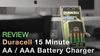 Duracell 15 Minute Fast Battery Charger - Review