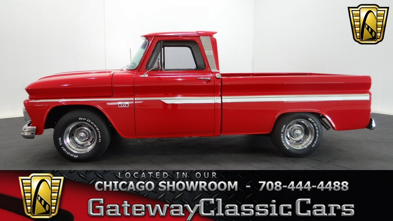 1966 Pickup Chevy Engine Truck