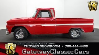 1966 Chevrolet C10 Pickup Gateway Classic Cars Chicago #1049