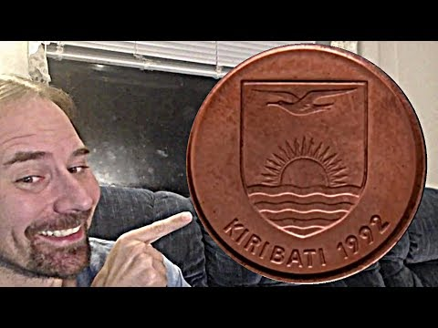 Kiribati 1 Cent 1992 Coin