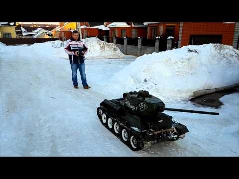 видео: rc Т 34 85 big scale