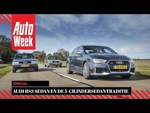 Audi RS3 sedan en de 5-cilindersedantraditie - Special