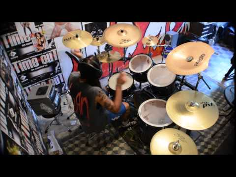 suicide silence - sacred words - (drum cover)