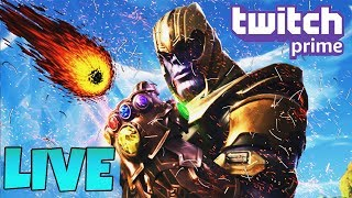 LIVESTREAM | FREE FORTNITE SKINS WITH TWITCH PRIME