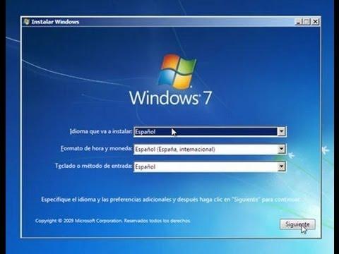Formatear Pc Sin CD-instalar Cualquier version Windows7-Instalar Todos Los drivers.