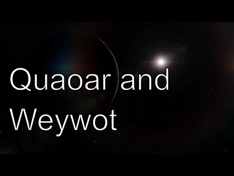 QUAOAR AND WEYWOT - Almost Dwarf Planet in Space Engine