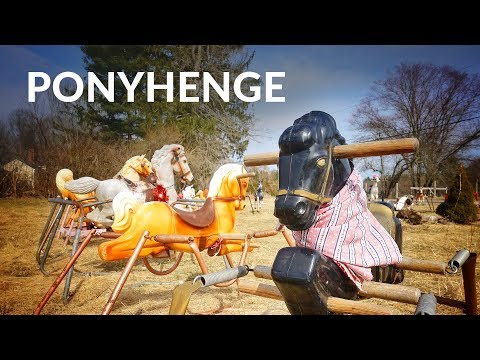 Ponyhenge is a place where toy rocking horses go to die
