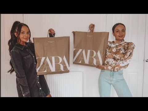 HUGE WINTER ZARA TRY ON HAUL  Under £20 (BUDGET) - AYSE AND ZELIHA