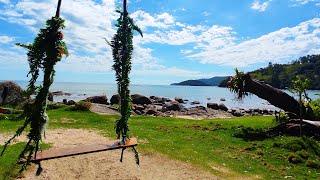 Balanço Praia do Fagundes - Porto Belo SC