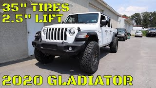 Download WHOA! What a DIFFERENCE! Lifting a 2020 Jeep Gladiator Mp3 and Videos