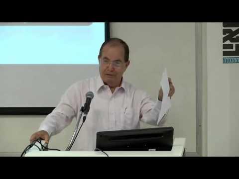 Professor Ichak Kalderon Adizes at the Academic College of Tel Aviv - Yaffo (Part 1 of 5 - Intro)