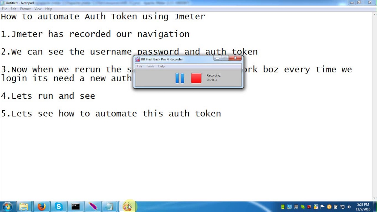 How To Automate Auth Token Using Jmeter