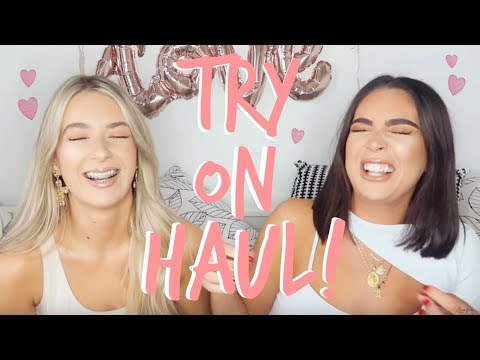 TRY ON HAUL! | LOADS OF NEW GEMS! | Sophia and Cinzia