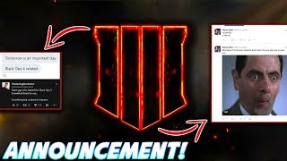 *NEW* BLACK OPS 4 ANNOUNCEMENT COULD BE TOMORROW! - CALL OF DUTY 2018: BLACK OPS 4 OFFICIAL REVEAL