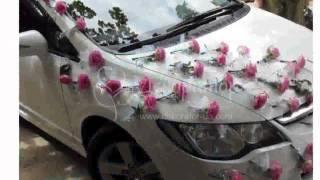 Украшения На Машину Для Свадьбы