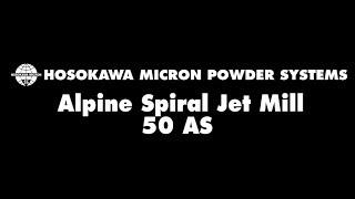 Alpine Spiral Jet Mill 50 AS