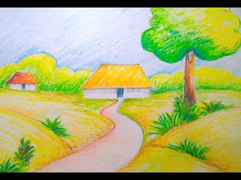 Scenery Drawing For Kids at GetDrawings.com | Free for ...