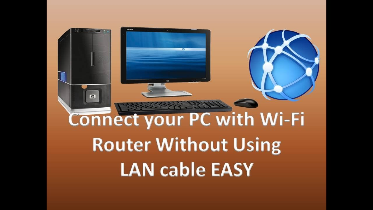 How to connect a Wi-Fi router to a computer