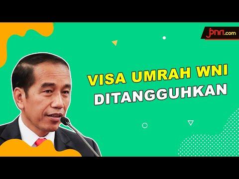Tangkal Corona, Jokowi Apresiasi Arab Saudi Tangguhkan Visa Umrah WNI