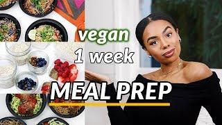 EASY HEALTHY VEGAN MEAL PREP