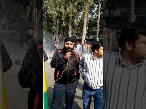 Dharna against ola uber and delhi govt 16/2/2018(5)