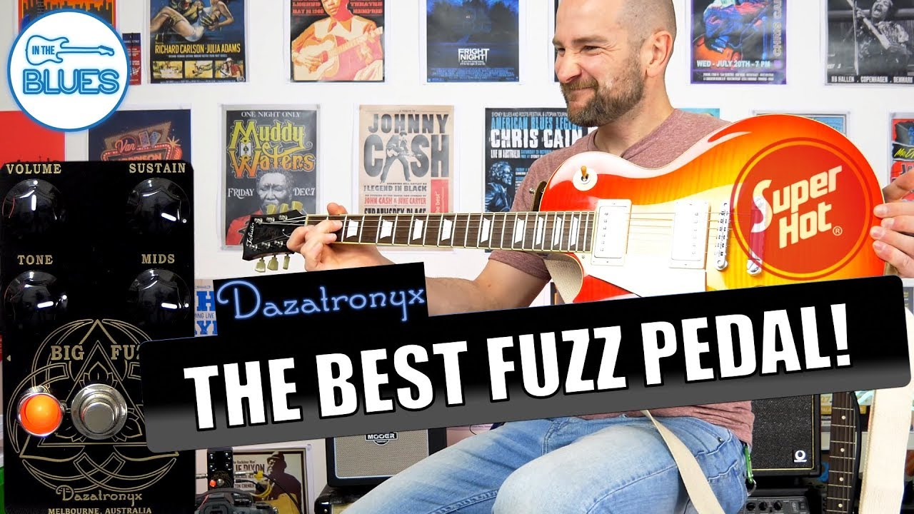 the best fuzz i have ever used no click bait the dazatronyx big fuzz pedal youtube. Black Bedroom Furniture Sets. Home Design Ideas