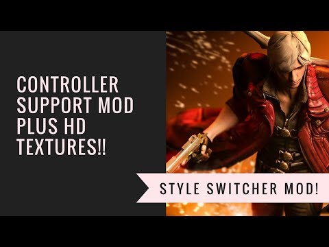 Tutorial: How to use a controller on DMC3 for PC + Style Switcher HD Texture Pack mod!!