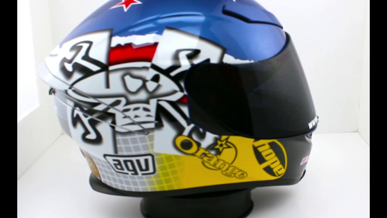 Buy The AGV Guy Martin 3Some Motorcycle Helmet from Dennis