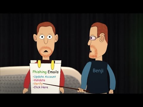 E-Safe: Phishing Emails - A Cartoon Short About The Dangers Of Phishing Emails