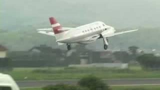 出雲空港のJ-AIR JS31ラストフライト